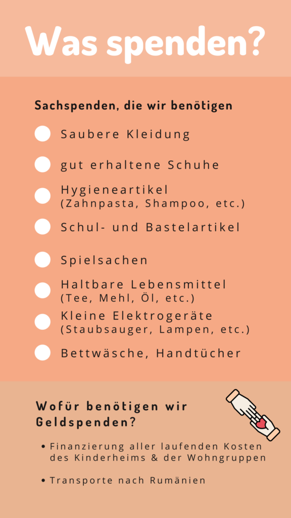 Spendenaktion Waldkirch August 2021 Flyer